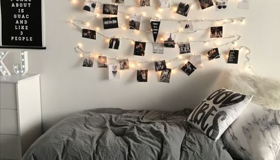 6 Tips To Make Your Dorm Room Look Aesthetic Af Cool Dorm Rooms Pinterest Room Decor Cute Dorm Rooms