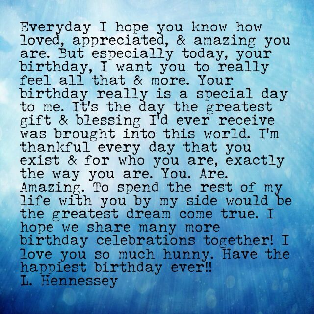 happy birthday letters for him best 25 boyfriend birthday quotes ideas on 11553