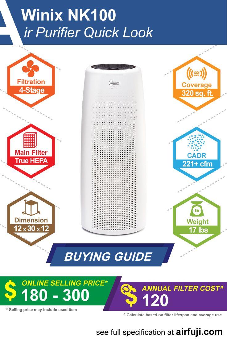 Winix NK100 Review The best tower air purifier? Air