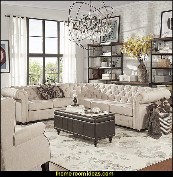 Best 25 chesterfield lounge ideas on pinterest - Chesterfield sofa living room ideas ...