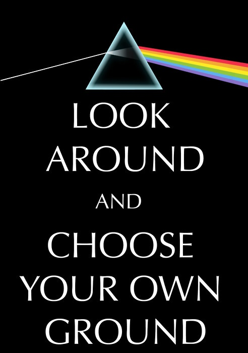 .:.:.:.:.:.Pink Floyd.:.:.:.:.:. - Dark Side of the Moon - LOOK AROUND AND CHOOSE YOUR OWN GROUND