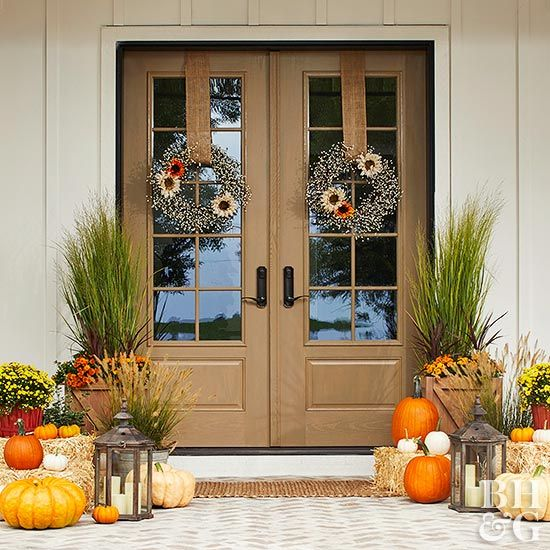 52 Vivacious Summer Porch Decor Ideas: Best 25+ Fall Front Doors Ideas On Pinterest