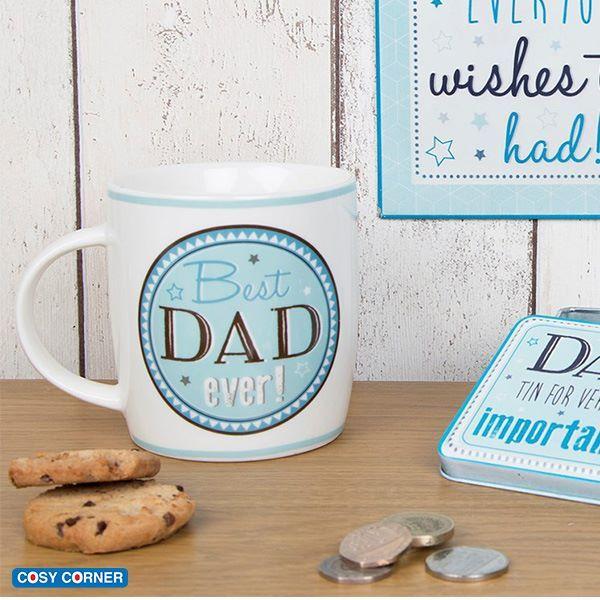 Μοναδική κούπα με την πρόταση 'Best Dad Ever'. Πρωτότυπο δώρο για όλους τους καταπληκτικούς μπαμπάδες! https://goo.gl/cz5U7y