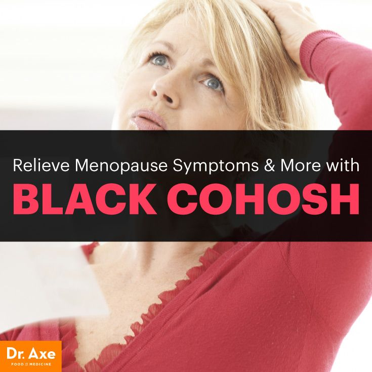 Relieve Menopause Symptoms & More with Black Cohosh - Dr. Axe