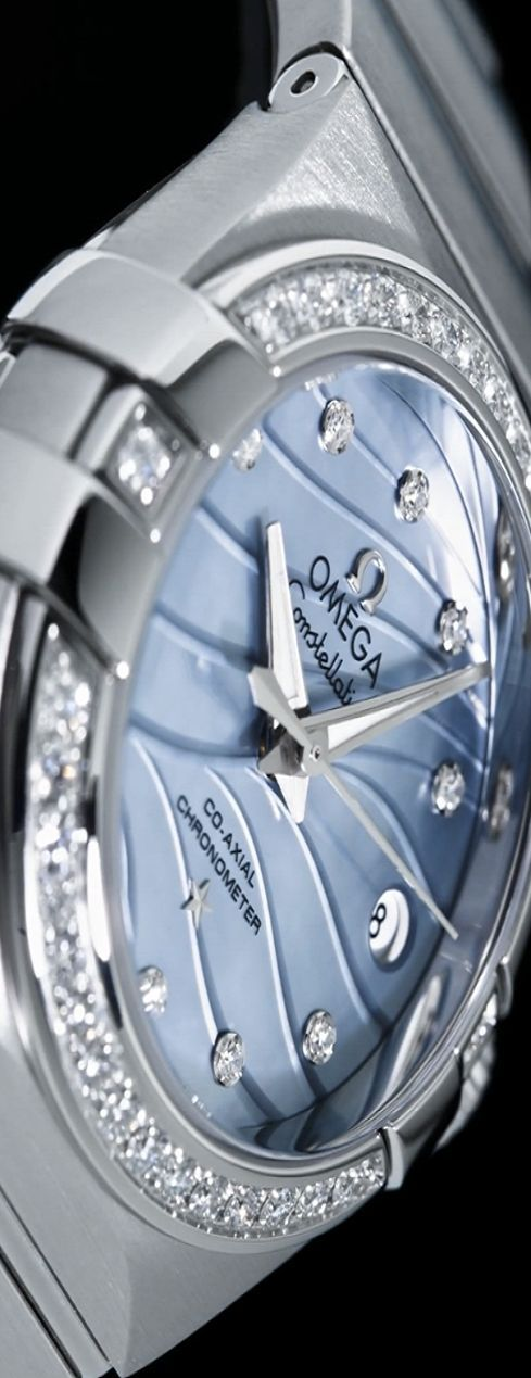 The new face of Omega ladies timepieces V via: