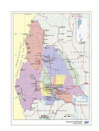 Descargar Mapa Politico de la Provincia de San Juan