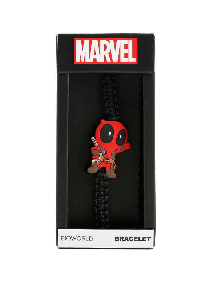 Marvel Deadpool Kawaii Cord Bracelet, | Hot Topic