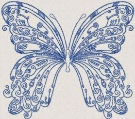 Unique Battuerfly Embroidery Design 180 | Free Embroidery Designs
