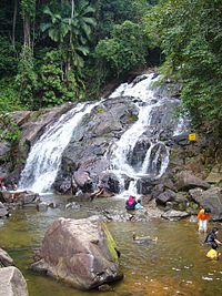 Kota Tinggi waterfalls in Malaysia!  Wonderful time!