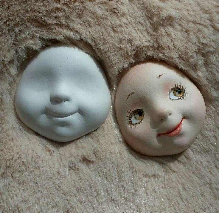 Купить или заказать Личики для кукол и теддидолл из флюмо 3.5см в интернет магазине на Ярмарке Мастеров. С доставкой по России и СНГ. Срок изготовления: 1 месяц. Материалы: флюмо. Размер: 3.5 на 3.5см