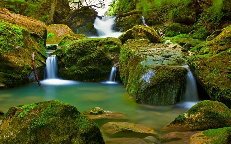 Trio de cascadas