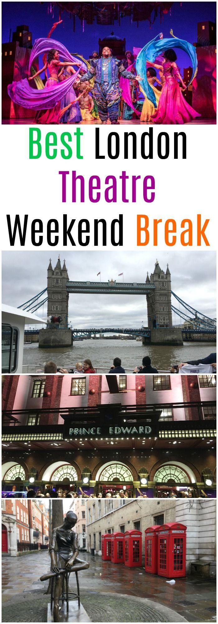 Best London theatre weekend break