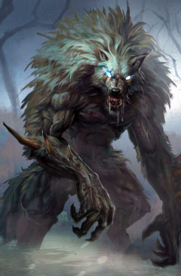 Werebeast >> 351 best Fantasy Art - Werewolves & Vampires images on ...