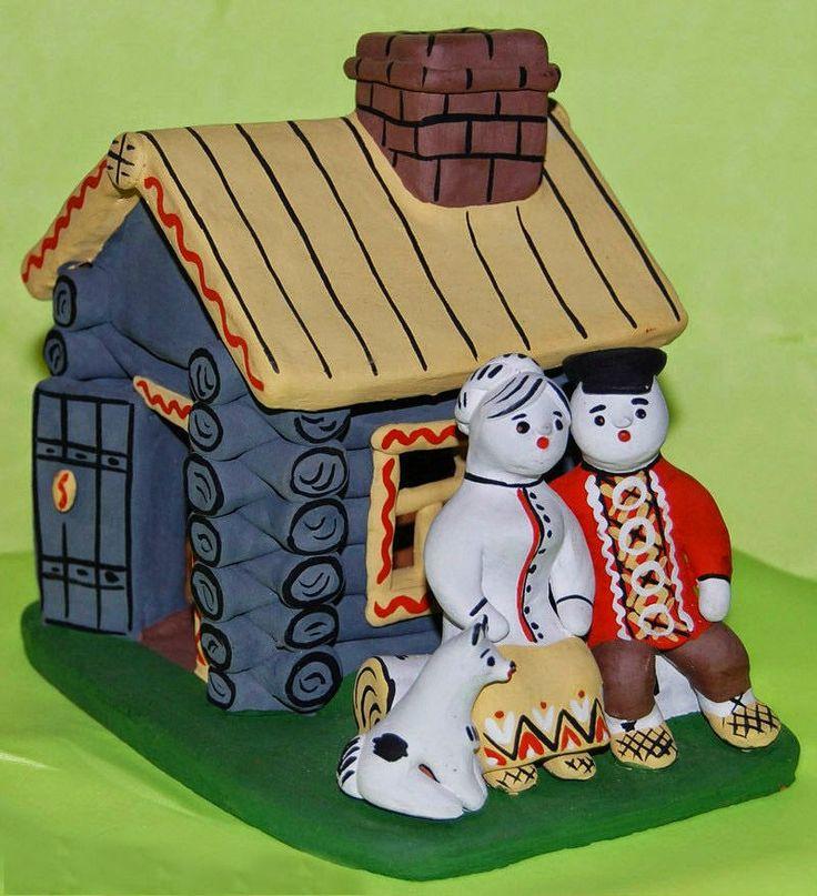 Мир русской культуры: Каргопольская игрушка