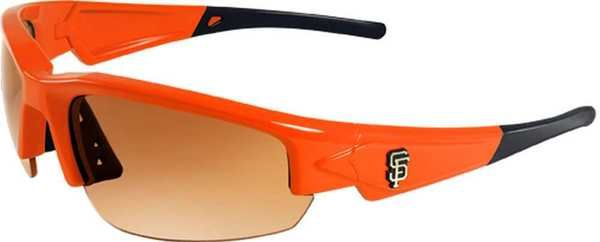 Maxx HD MLB Dynasty 2.0 San Francisco Giants Sunglasses, Orange/Black Max-Giants