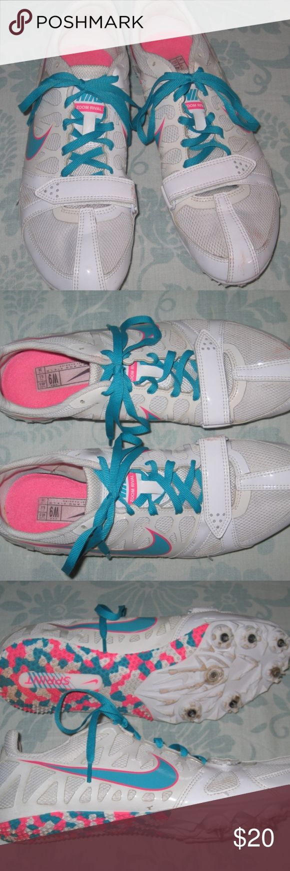 Nike Sprint Track & Field Zoom Rival S Cleats Shoe Gently Used. -P- Nike Shoes Sneakers