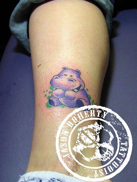 hippo tattoo | 6970728452_7a7f2dda6b_z.jpg