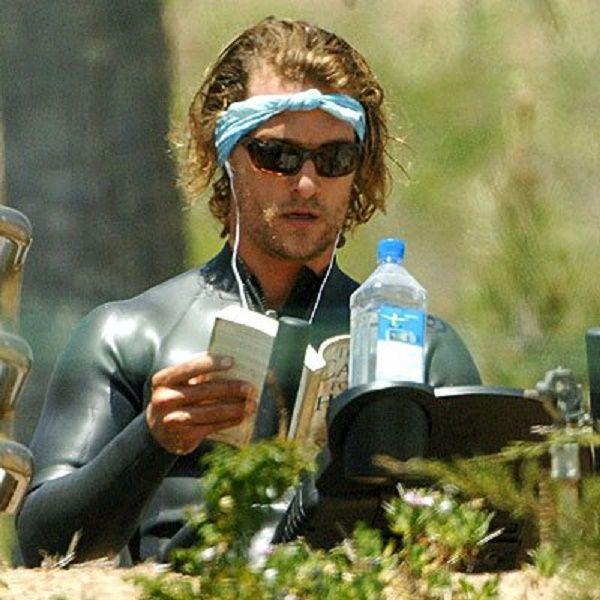 Oscar Winner Matthew McConaughey Spotted Reading Lee Strobel's 'The Case For…