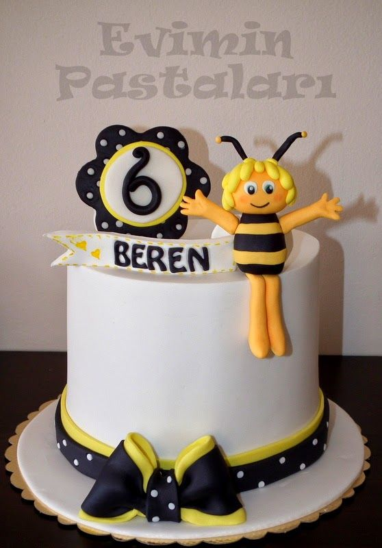 Evimin Pastaları: Arı Maya, arı partisi, bee party , bee , sarı , yellow , butik pasta, ankara