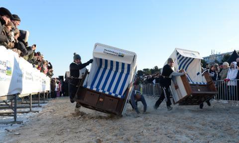 Strandkorb-Sprint Wm auf #Usedom Foto: Mayk Borchardt #meckpomm #zinnowitz #sport #strand #ostsee