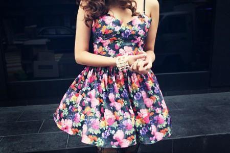 Летнее платье женственное