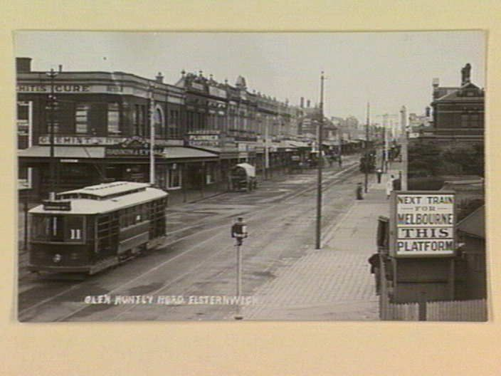 GLEN HUNTLY ROAD, ELSTERNWICK. [picture] , State Library of Victoria