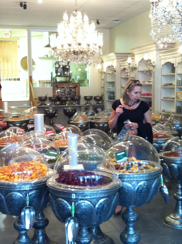 Ayoub's Dried Fruits and Nuts ; the most beautiful nut store in Vancouver