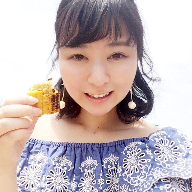 #bbq #日焼けで背中痛い#tga17 #fashionblogger #肉 #天気いい #お腹いっぱい