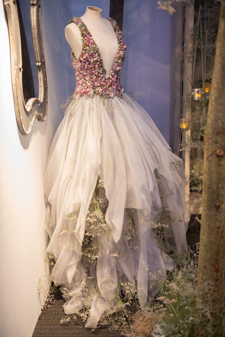 Sleeping Beauty: Zita Elze Floral Artist At Brides The Show   Love My Dress® UK Wedding Blog photo: James Merrell