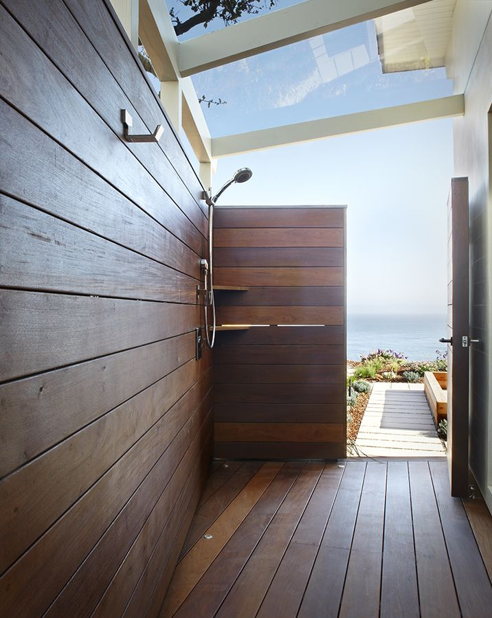 Outdoor Shower    Mesa Contemporary Remodel | Allen Associates  Construction; Harrison Design