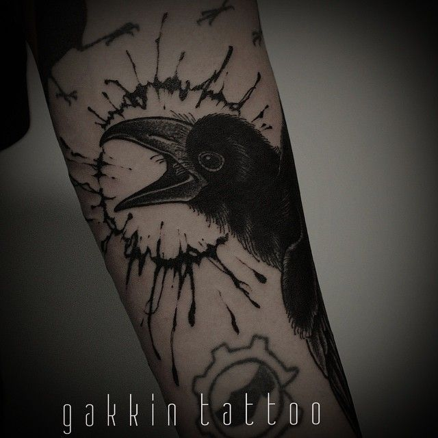 208 best images about tattoo rabe on pinterest bird tattoos the raven and ink. Black Bedroom Furniture Sets. Home Design Ideas