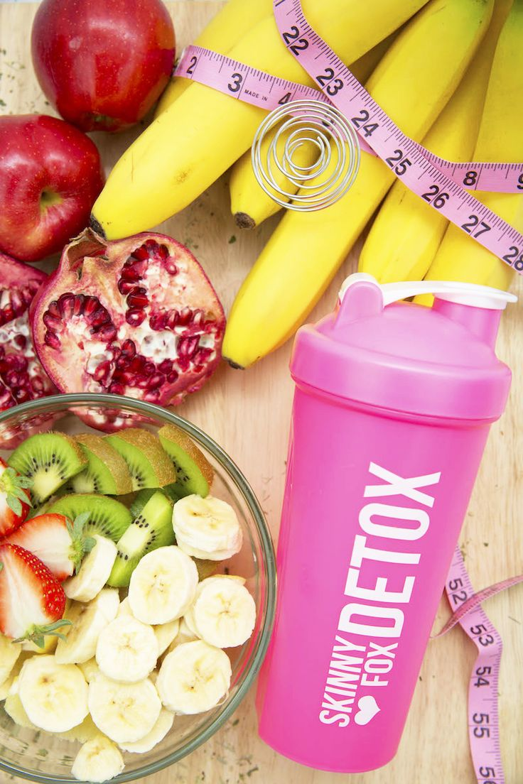 Show off your foxiness everywhere you go with the new SkinnyFoxDetox Pink Shaker Bottles