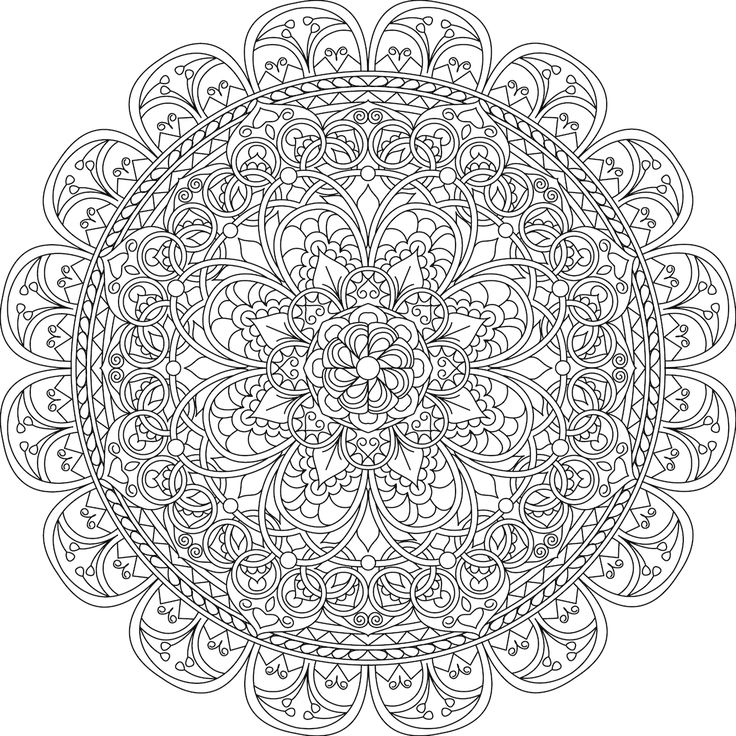 25 best ideas about Mandala coloring on Pinterest