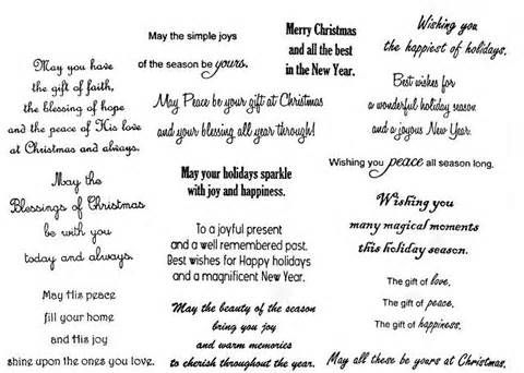 christmas card sentiments - Yahoo Image Search Results