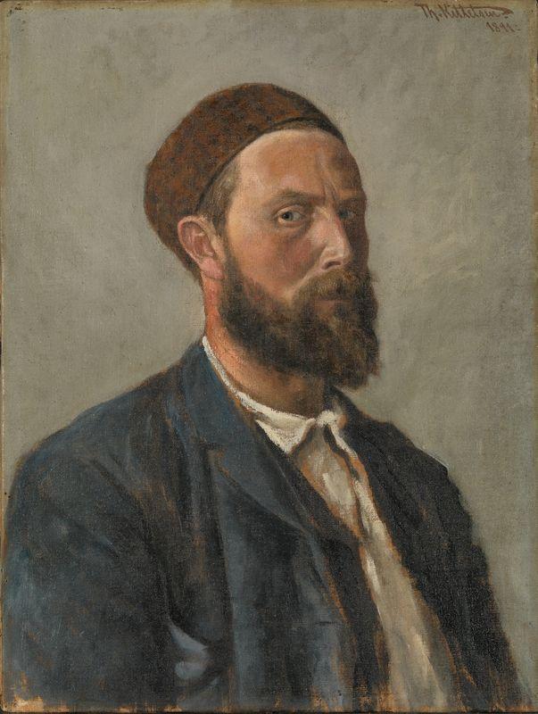 1891. Olje på lerret
