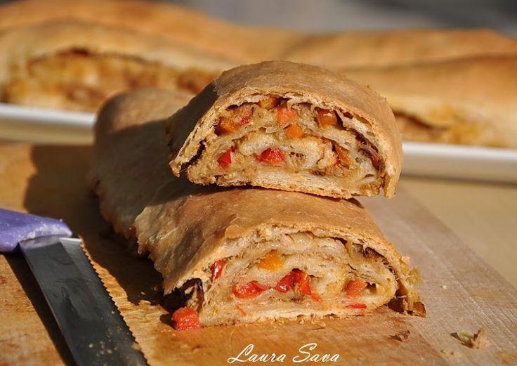 Placinta cu ton   Retete culinare cu Laura Sava