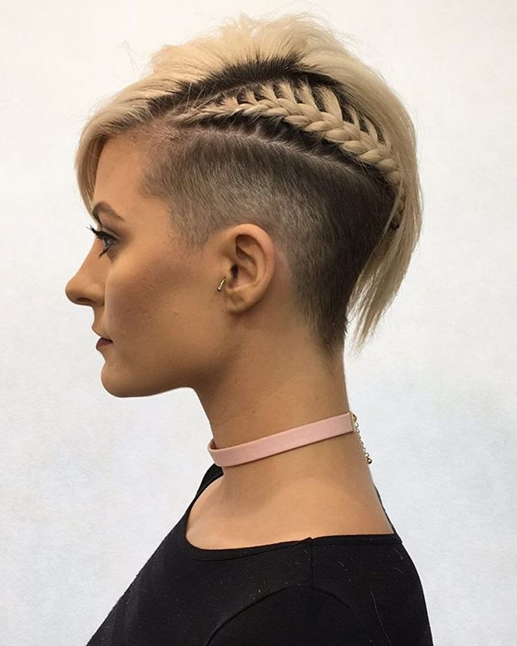 50 Best Shaved Hairstyles for Women in 2017
