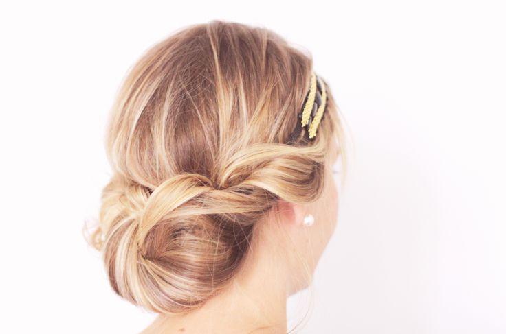 TUTO CHIGNON GATSBY 91 Tuto coiffure : le chignon flou des années folles Blog mode