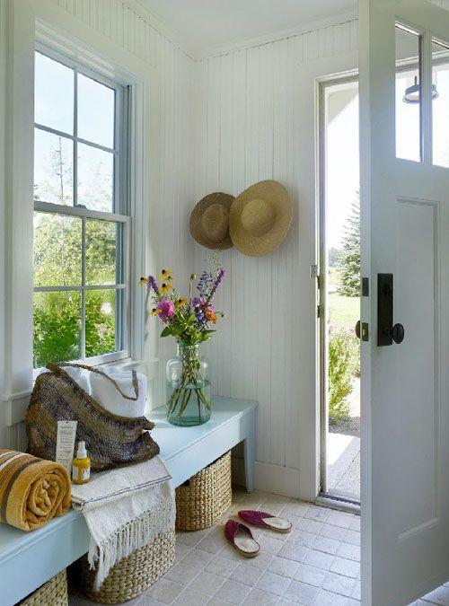 ChicDecó: Ideas para decorar recibidores en veranoIdeas to decorate hallways in summer