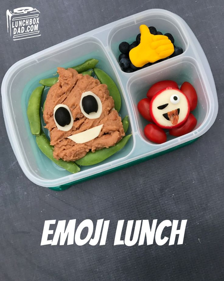 How to make an Emoji school lunch for your kids!