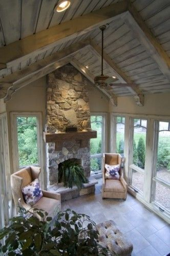 ceiling by Giegie  Sunrooms in 2019  Family room
