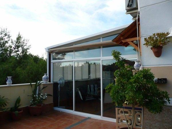 Carpintería de aluminio: Cerramiento de terraza