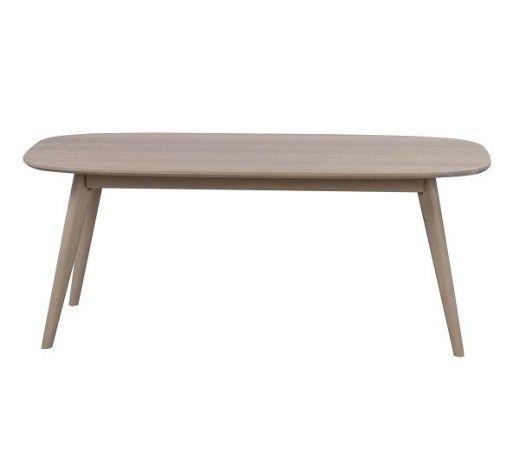 SOFFBORD YUMI   -LWS- - vit/ekfärgad, Modern, trä (125/60/50cm) - ROWICO