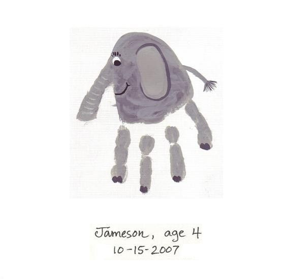 Elephant craft... perfect for preschoolers at a Jungle themed VBS