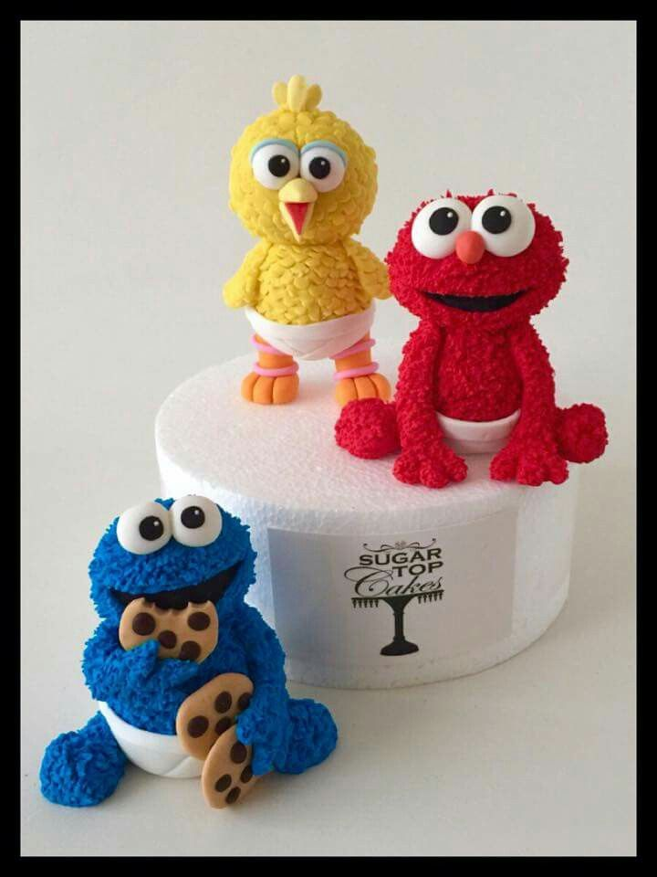 Baby Sesame Street Toppers