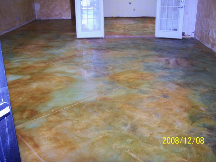 Stained Concrete Acid And Floors Pinterest