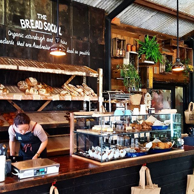 Bakery Vibes At The Bread Social located at The Farm by @isabella_and_george