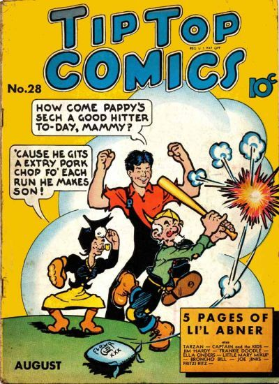 BOOKSTEVE'S LIBRARY: Li'l Abner and Al Capp | comic book cover