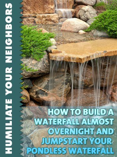 112 best images about pondless waterfall designs on for House built on waterfall
