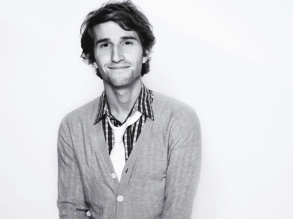 Max Winkler, proving that it's nigh-on impossible to go wrong in life if your dad is The Fonz.